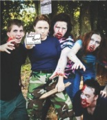 Zombie Socks takes a fresh approach to the zombie apocalypse craze.