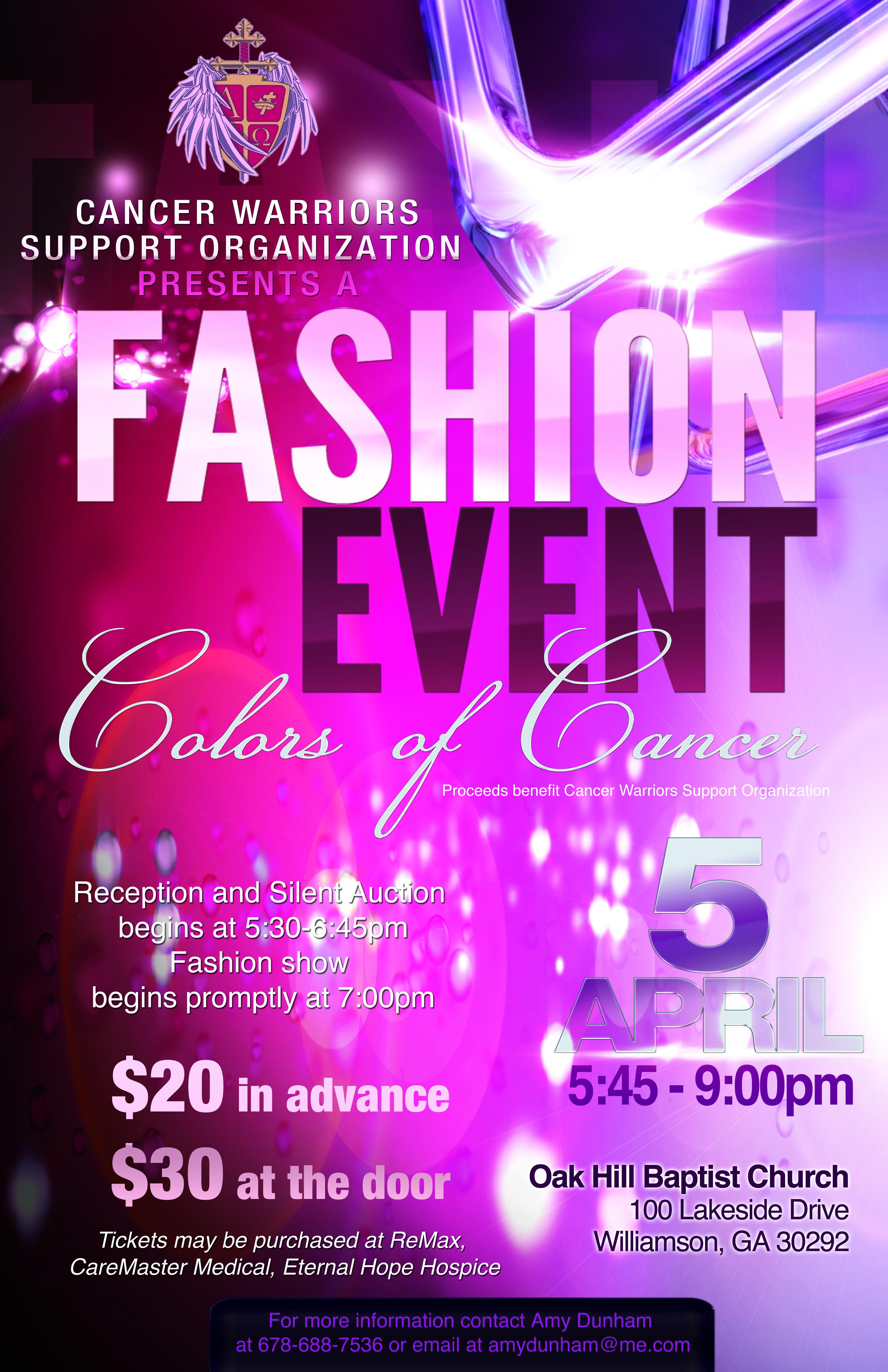 Church fashion show program 2