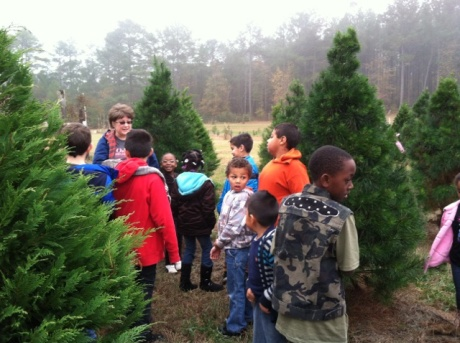Orrs_Trees for Troops_Evergreen Christmas Tree Farm