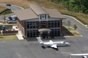 The $2 million airport terminal favored by Griffin-Spalding County Airport Authority members is modeled after this terminal, currently in use in Cherokee County.