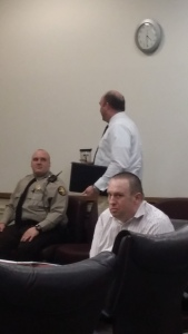 Shane Clifton Collett is standing trial in Spalding County Superior Court for the Dec. 21, 2012 murder of nine-year-old Skyler Dials. Photo credit: Sheila A. Mathews