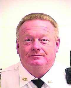 David Gibson, the former captain of the Spalding County Sheriff's Office Uniform Patrol Division, and Spalding County Sheriff Wendell Beam have received statutory notification that four female employees of the Sheriff's Office intend to file suit against them in both their official and private capacities. The anti-litem served on local officials estimates the four women's damages at $2 million each. Photo courtesy of the Spalding County Sheriff's Office