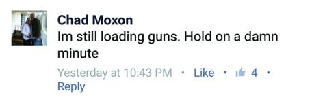 FB Chad loading guns to use