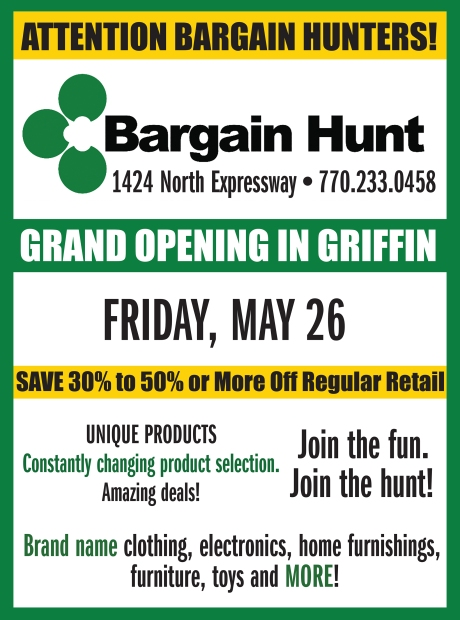 Bargain Hunt grand opening for web