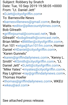 Sept. 10 GPD press contacts