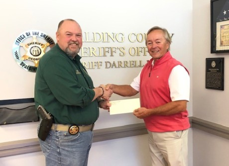Sheriff Darrel Dix and Mike Leathers