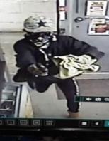 Image captured from surveillance footage courtesy of the Spalding County Sheriff's Office