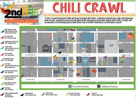 Chili Crawl map
