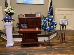 K9 Thorr's memorial service