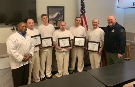 SCSO Serve Safe January Graduation